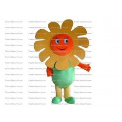Achat mascotte Fleurs pas chère. Déguisement mascotte Fleurs.