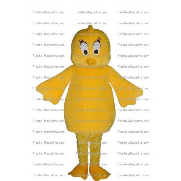 Achat mascotte Poussin Titi pas chère. Déguisement mascotte Poussin Titi.