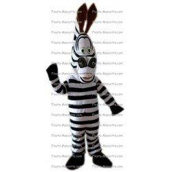 Buy cheap Zebra mascot costume.