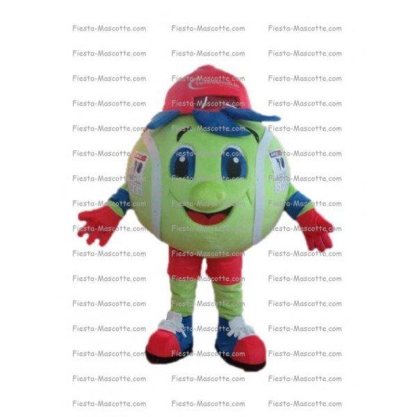 Achat mascotte Balle de tennis pas chère. Déguisement mascotte Balle de tennis.