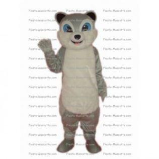 Achat mascotte Chien lunette pas chère. Déguisement mascotte Chien lunette.