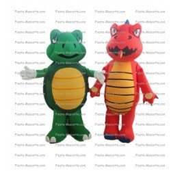 Buy cheap Turtle and dragon mascot costume.