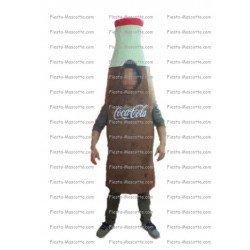 Buy cheap Coca cola bottle mascot costume.