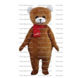 Buy cheap Brown bear mascot costume.