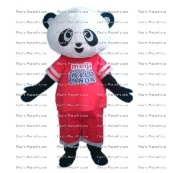 Achat mascotte Panda sport pas chère. Déguisement mascotte Panda sport.