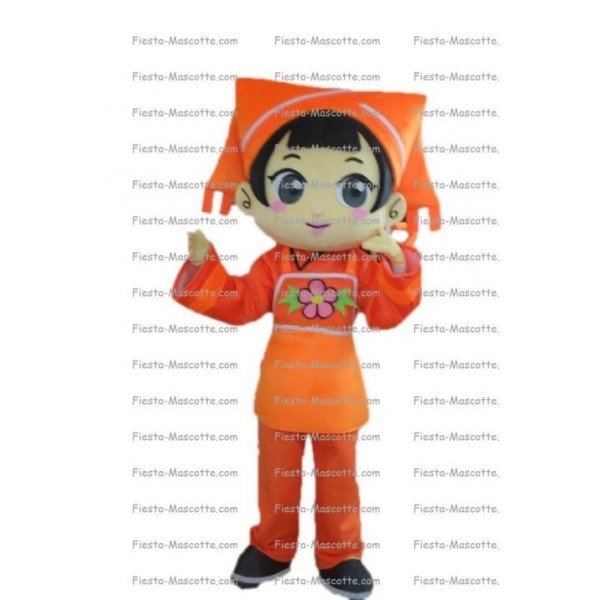 Buy cheap Girl character mascot costume.