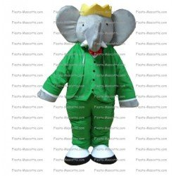 Buy cheap Elephant babar mascot costume.