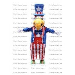 Achat mascotte Oiseau USA pas chère. Déguisement mascotte Oiseau USA.
