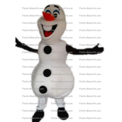 Achat mascotte Olaf reine des neiges pas chère. Déguisement mascotte Olaf reine des neiges.