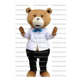 Achat mascotte Ours Ted pas chère. Déguisement mascotte Ours Ted.