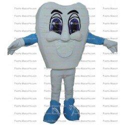Achat mascotte Dent pas chère. Déguisement mascotte Dent.