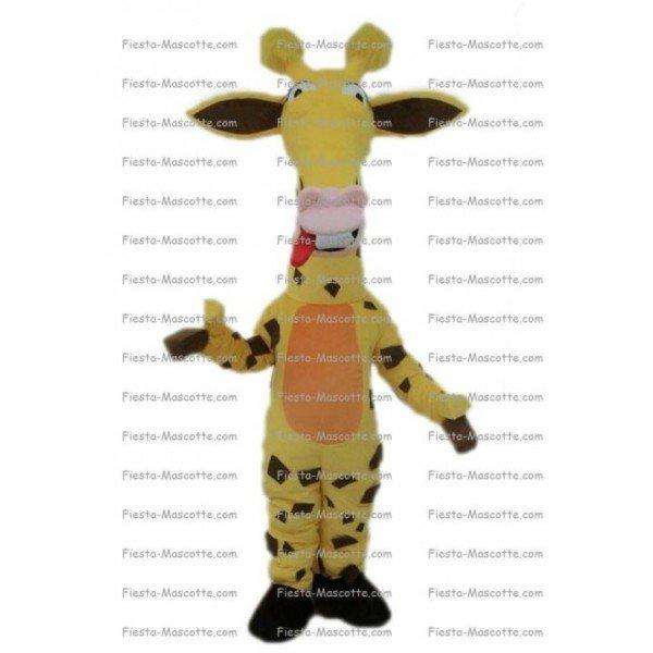 Achat mascotte Girafe pas chère. Déguisement mascotte Girafe.