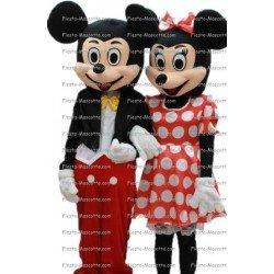 Achat mascotte Mickey et mini pas chère. Déguisement mascotte Mickey et mini.