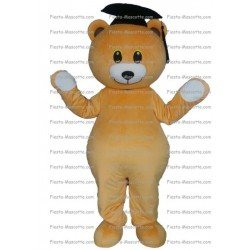Buy cheap Bear graduated mascot costume.