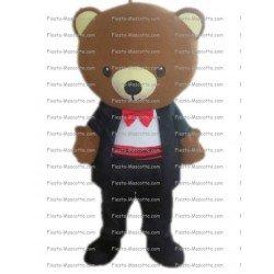 Buy cheap Tuxedo bear mascot costume.