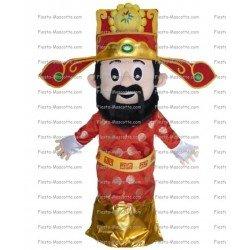 Achat mascotte Personnage chinois pas chère. Déguisement mascotte Personnage chinois.