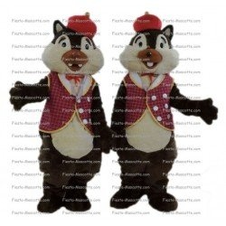 Buy cheap Alvin chipmunks squirrel mascot costume.