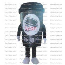 Achat mascotte Gobelet de café pas chère. Déguisement mascotte Gobelet de café.