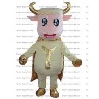 Buy cheap Super hero cow mascot costume.