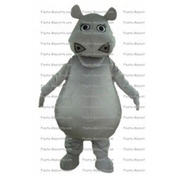 Achat mascotte Hippopotame Madagascar pas chère. Déguisement mascotte Hippopotame Madagascar.