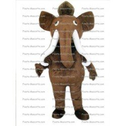 Achat mascotte Éléphant mammouth pas chère. Déguisement mascotte Éléphant mammouth.