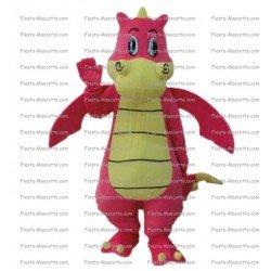 Achat mascotte Dragon monstre pas chère. Déguisement mascotte Dragon monstre.