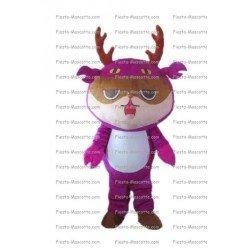 Achat mascotte Cerf personnage pas chère. Déguisement mascotte Cerf personnage.