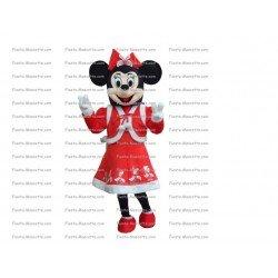 Buy cheap Minnie christmas mascot costume.