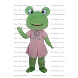 Buy cheap Girl frog mascot costume.