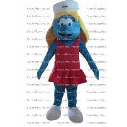 Buy cheap Smurfette mascot costume.