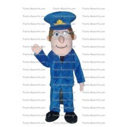 Buy cheap Police character mascot costume.