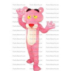 Achat mascotte Panthère rose pas chère. Déguisement mascotte Panthère rose.