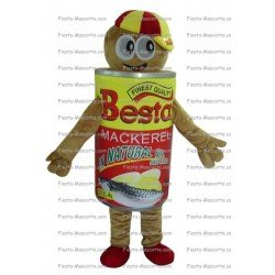 Buy cheap Canned tin mascot costume.