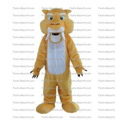 Buy cheap Ice age tiger mascot costume.