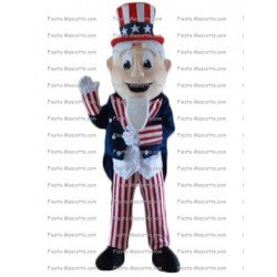 Buy cheap Uncle Sam mascot costume.