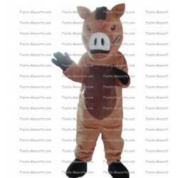 Buy cheap Warthog pig mascot costume.