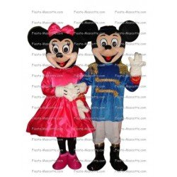 Buy cheap Mickey minnie mascot costume.