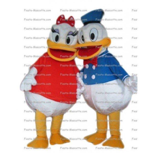 Buy cheap Donald Daisy Duck mascot costume.