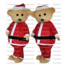 Buy cheap Christmas bear mascot costume.