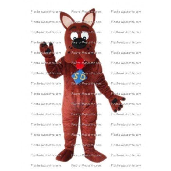 Achat mascotte chien Scoubidou pas chère. Déguisement mascotte chien Scoubidou.