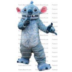 Achat mascotte Stitch pas chère. Déguisement mascotte Stitch.
