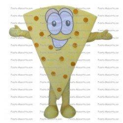 Buy cheap Piece of pizza mascot costume.