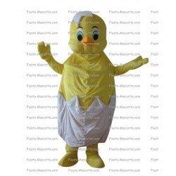 Buy cheap egg chick mascot costume.