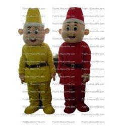 Buy cheap Dwarf leprechaun mascot costume.