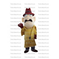 Buy cheap Inspector Gadget mascot costume.