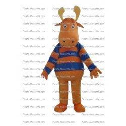 Buy cheap Reindeer deer mascot costume.