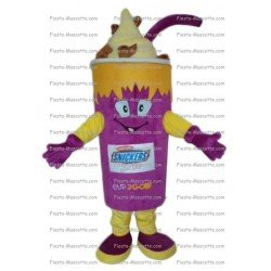 Achat mascotte Gobelet boisson snickers pas chère. Déguisement mascotte Gobelet boisson snickers.