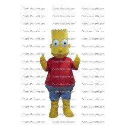 Achat mascotte Bart Simpson pas chère. Déguisement mascotte Bart Simpson.