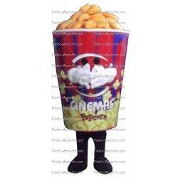 Buy cheap Pop corn mascot costume.