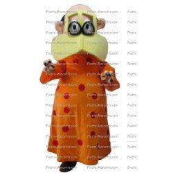 Buy cheap Veiled woman mascot costume.
